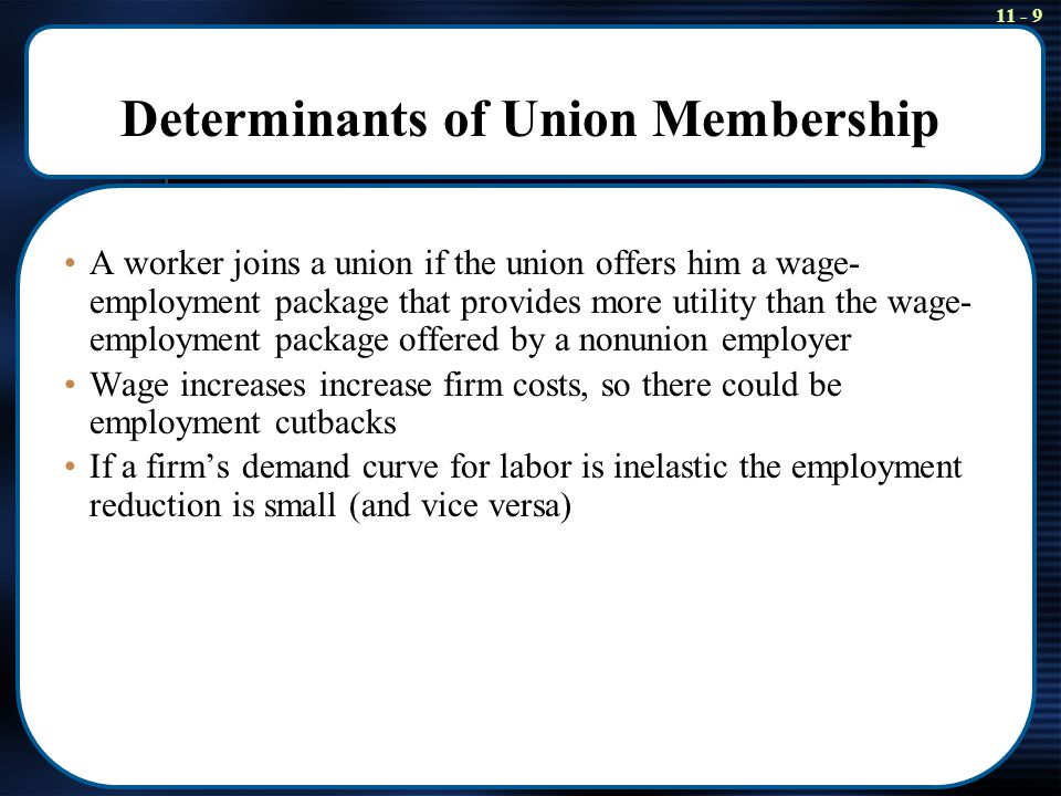 11 - 30 Does the Union Wage Gap Measure the Union Wage Gain.