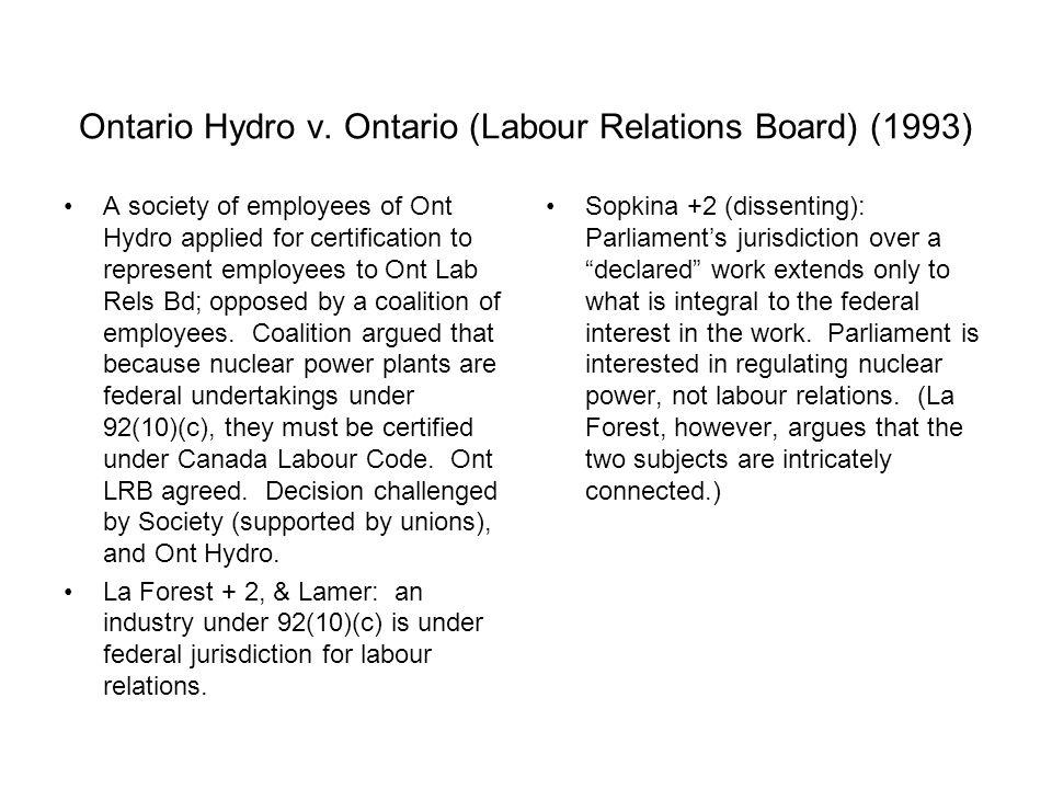Ontario Hydro v.