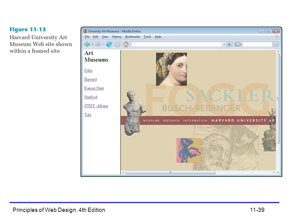 Principles of Web Design, 4th Edition11-39