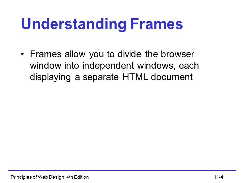 Principles of Web Design, 4th Edition11-5