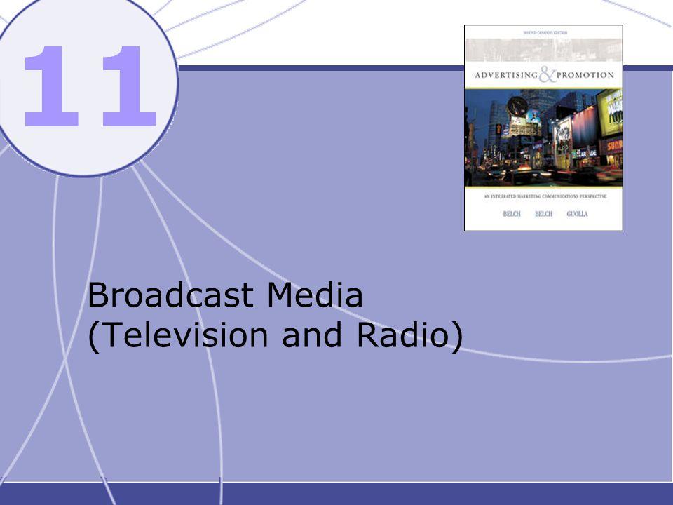 11 Broadcast Media (Television and Radio)