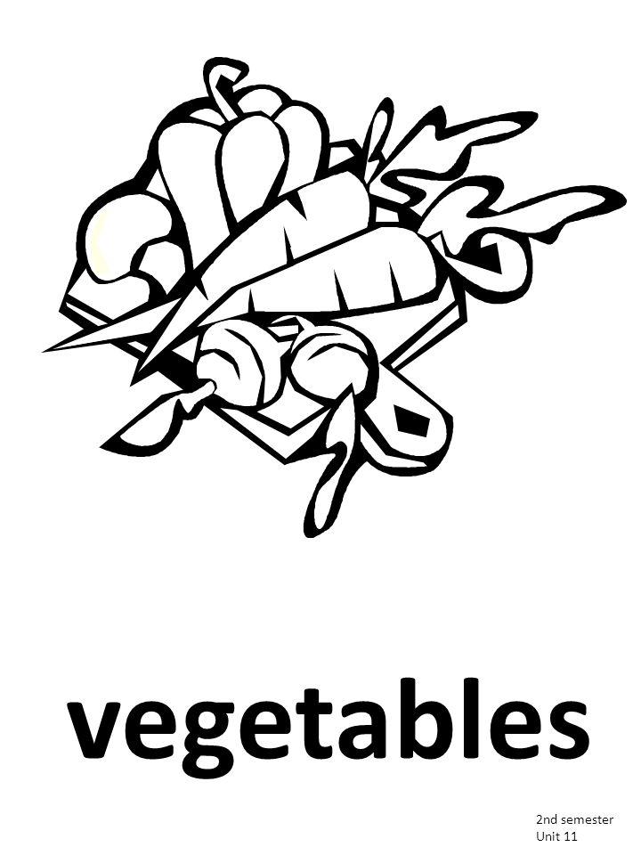 vegetables 2nd semester Unit 11