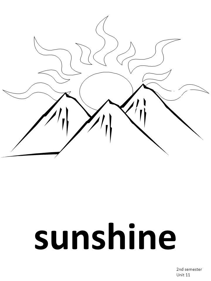 sunshine 2nd semester Unit 11
