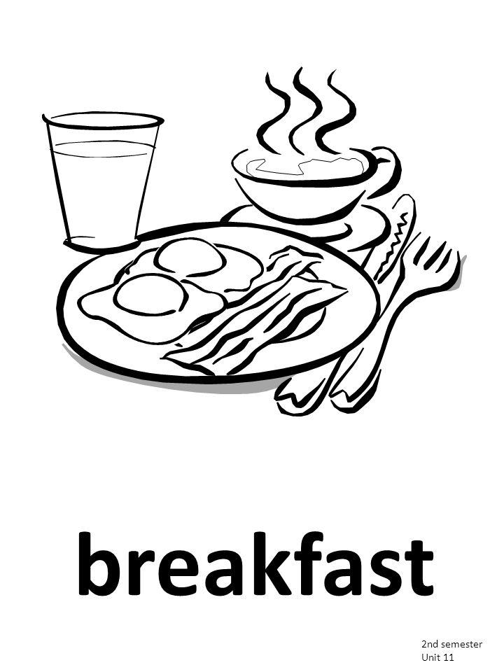 breakfast 2nd semester Unit 11