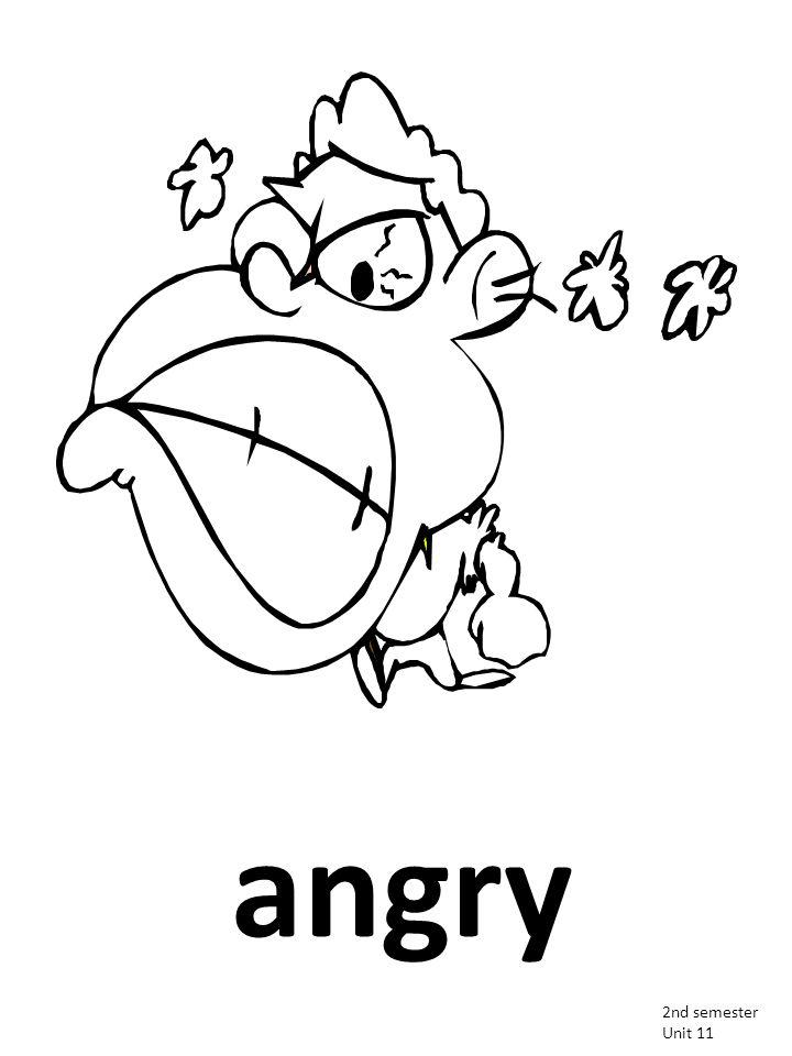 angry 2nd semester Unit 11