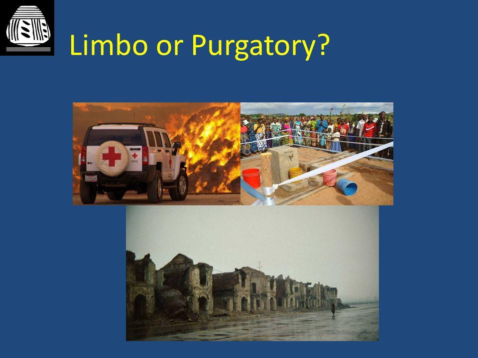 Limbo or Purgatory?