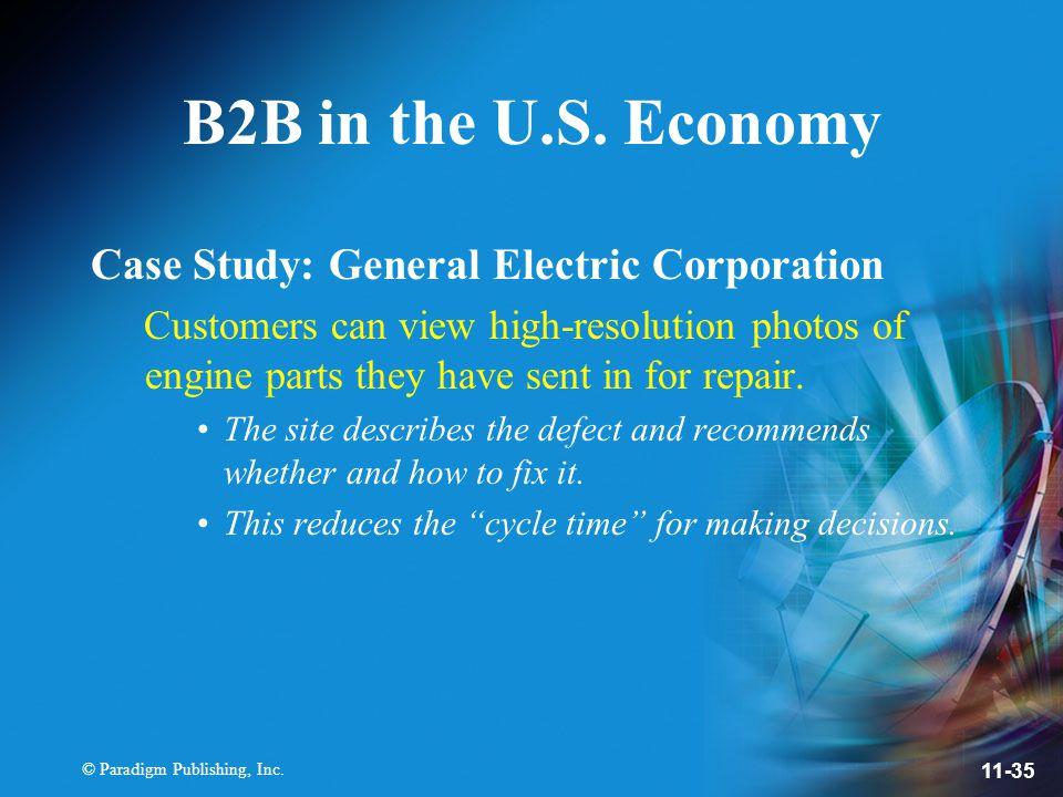 © Paradigm Publishing, Inc. 11-35 B2B in the U.S.