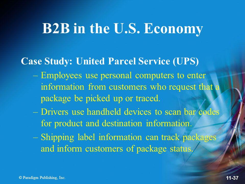 © Paradigm Publishing, Inc. 11-37 B2B in the U.S.