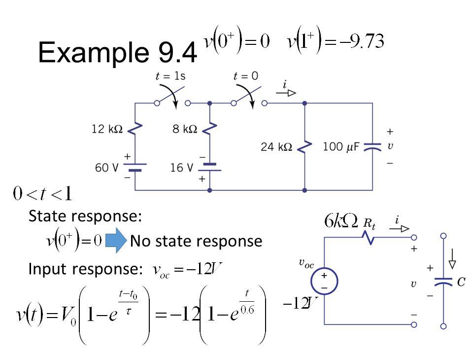 No state response State response: Input response: