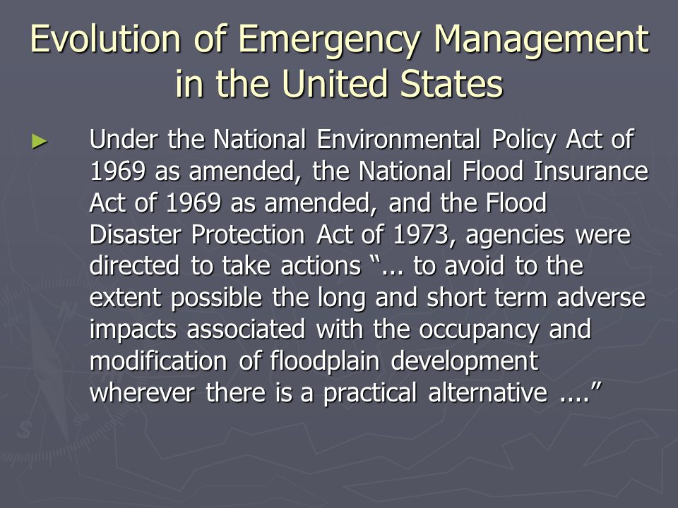 Discussion Questions ► How did the FEMA region VII office facilitate the implementation of recovery efforts in Missouri following the 1994 Midwest floods.