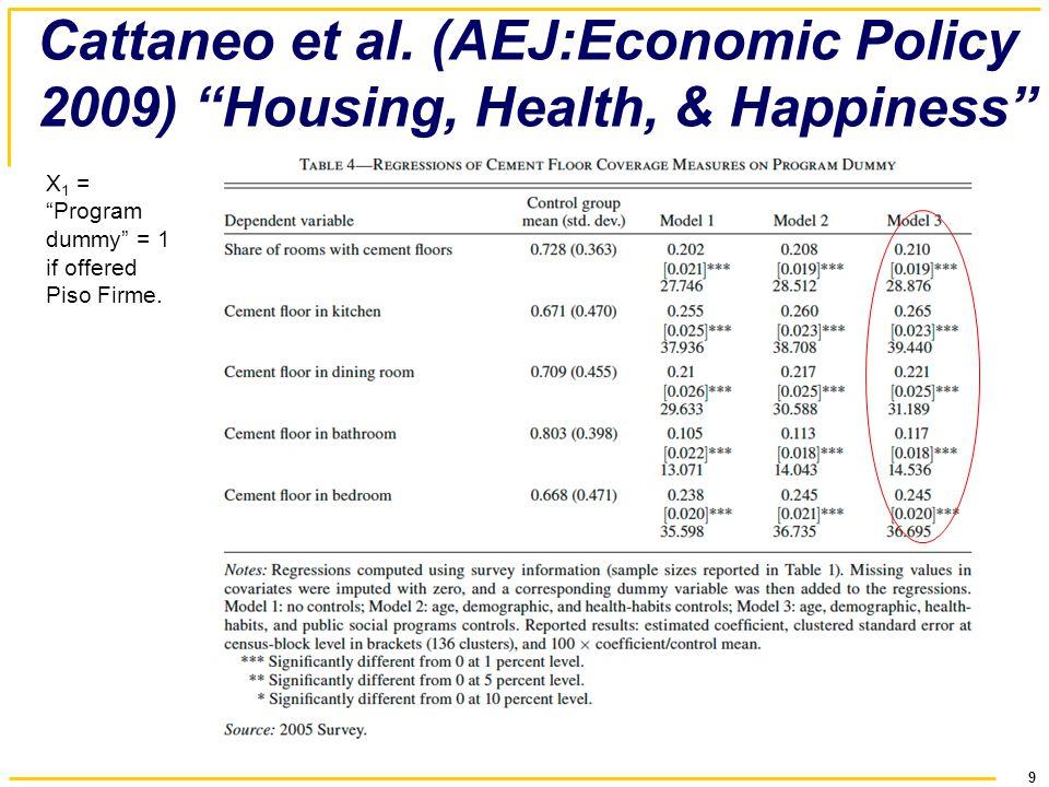 9 Cattaneo et al.