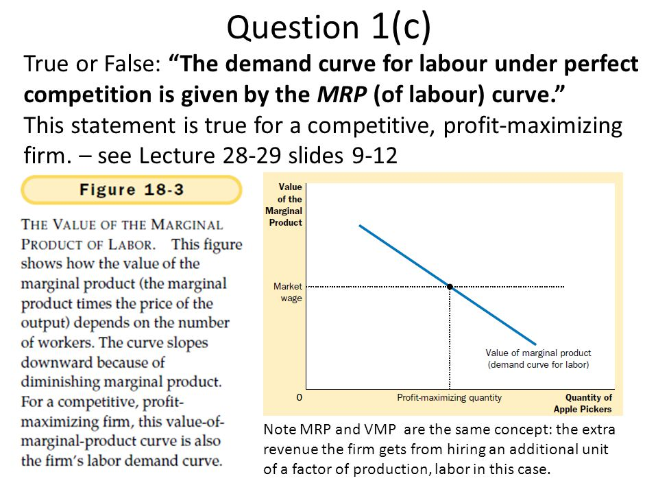 Wage 0 Quantity MR MFC Monopsony Wage Monopsony Quantity Monopsonist purchaser (employer) of labor sets quantity where MRP=MFC and pays a price of labor (wage) equal to the lowest acceptable price (S) at that quantity S=AC D=MRP