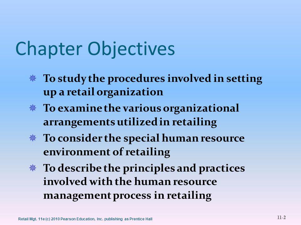 11-23 Retail Mgt.11e (c) 2010 Pearson Education, Inc.