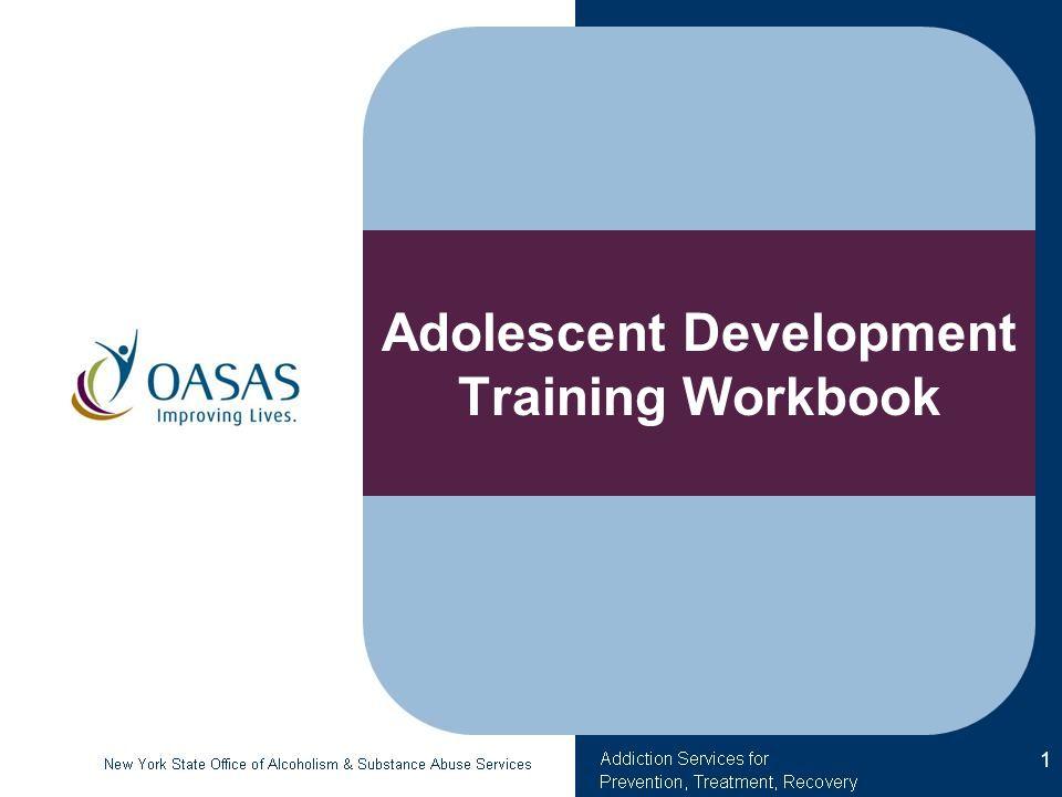 Adolescent Development Training Workbook 1