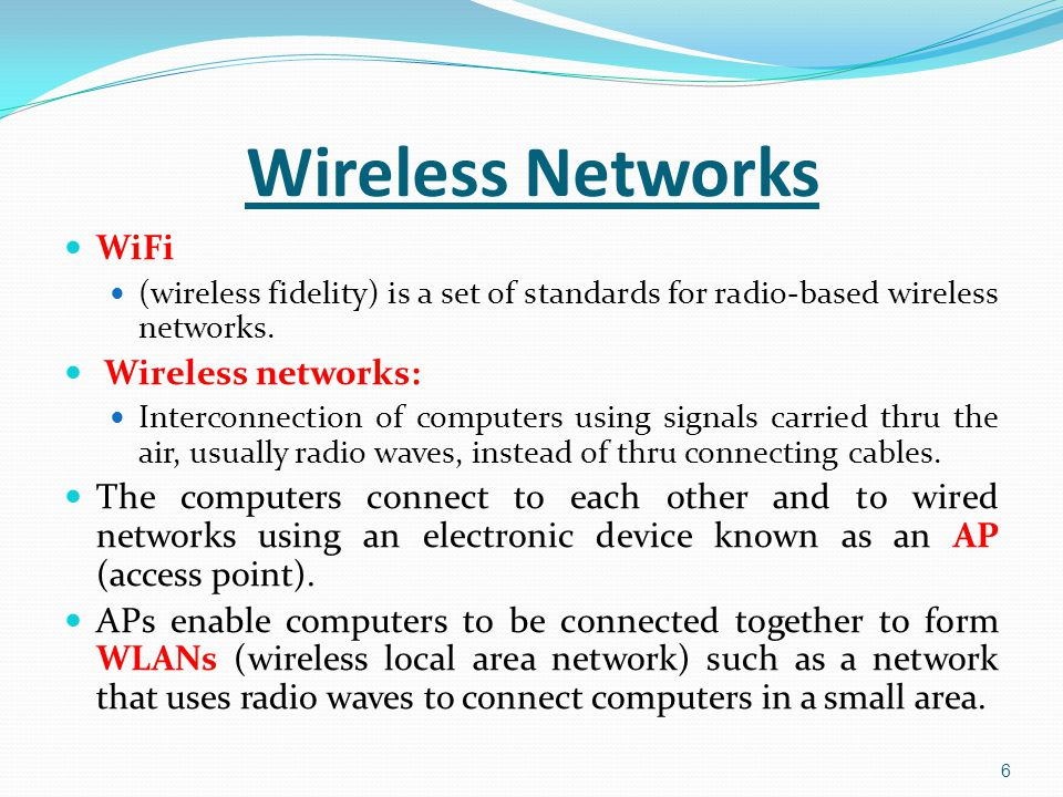 Active participle: A modem which provides access to the Internet == A modem providing access to the Internet A fixed LAN which links computers with cables == A fixed LAN linking computers with cables 17 Unit 11: Networks Language Work (relative clauses with a participle)
