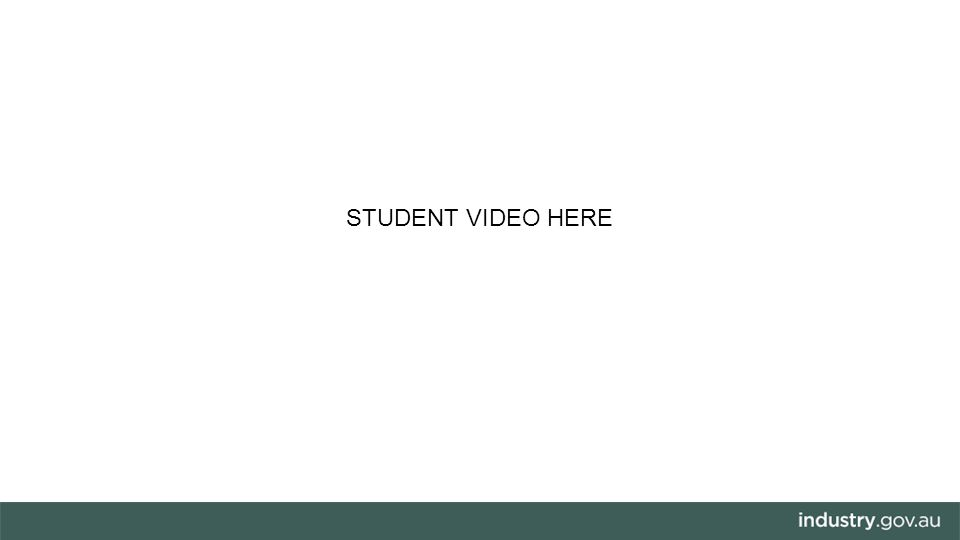 STUDENT VIDEO HERE