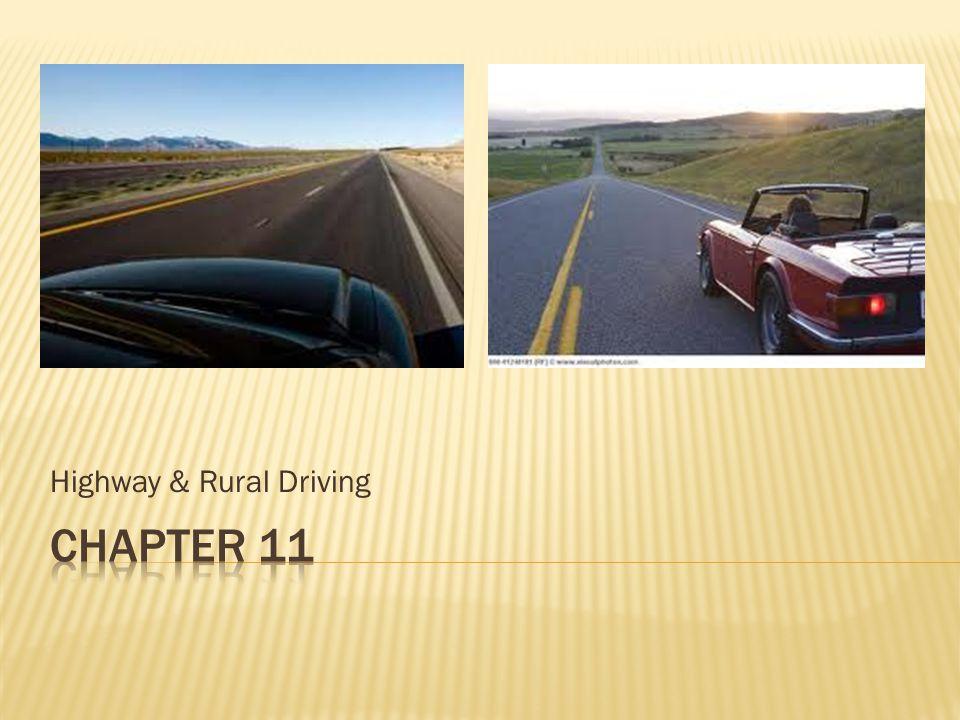 Highway & Rural Driving