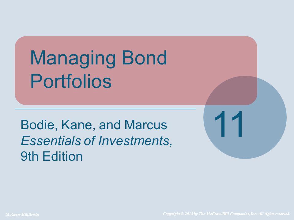 11-12 11.1 Interest Rate Risk