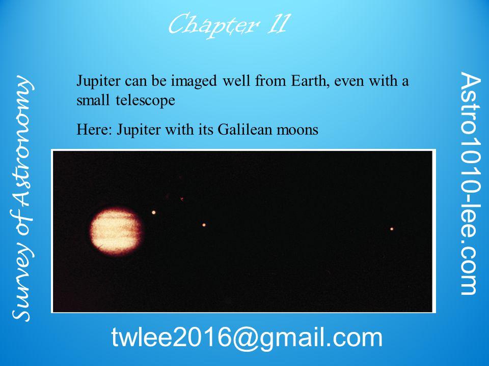 Survey of Astronomy Astro1010-lee.com twlee2016@gmail.com Chapter 11