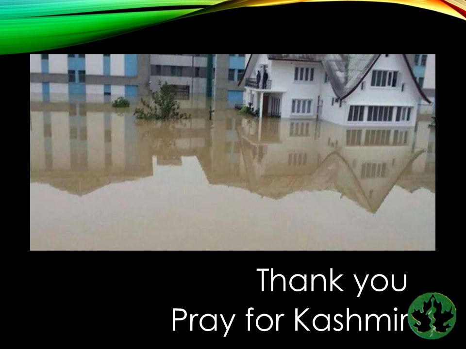 Thank you Pray for Kashmir