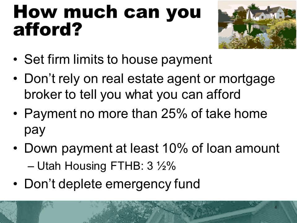 Consider the cost Property taxes –*Cache County estimate $8.21 for $1000 borrowed.