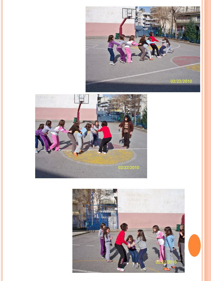 How to choose the leader: The children form a circle.