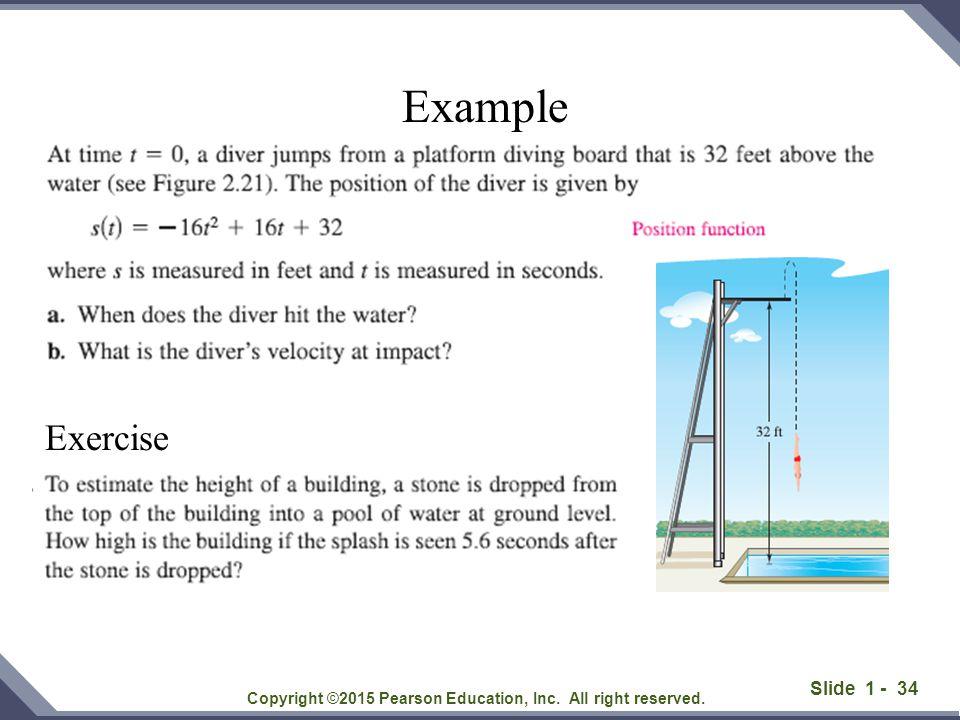 Slide 1 - 35 Copyright ©2015 Pearson Education, Inc.
