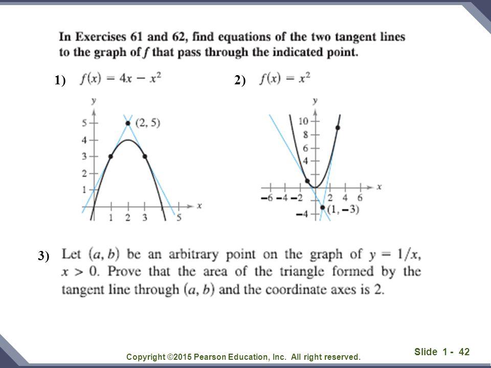 Slide 1 - 43 Copyright ©2015 Pearson Education, Inc.