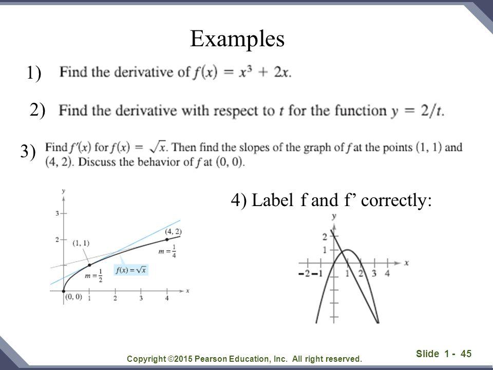 Slide 1 - 46 Copyright ©2015 Pearson Education, Inc.