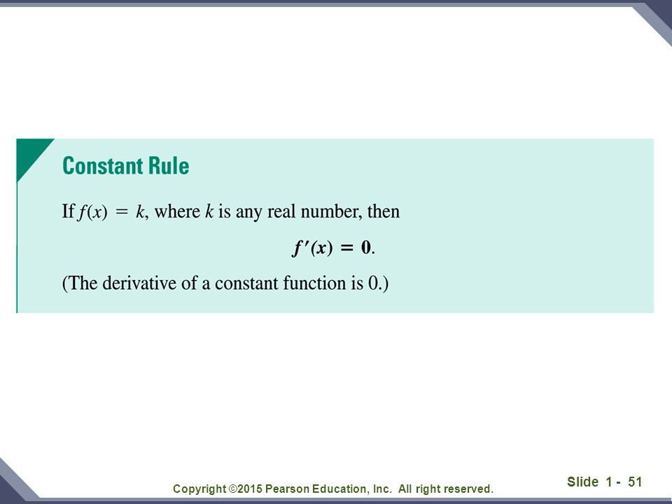 Slide 1 - 51 Copyright ©2015 Pearson Education, Inc. All right reserved.
