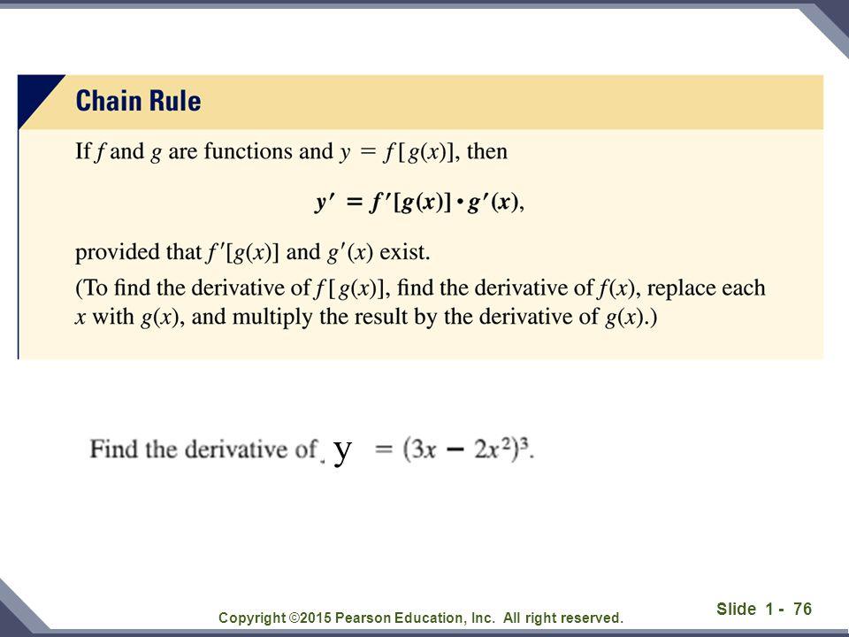 Slide 1 - 77 Copyright ©2015 Pearson Education, Inc.