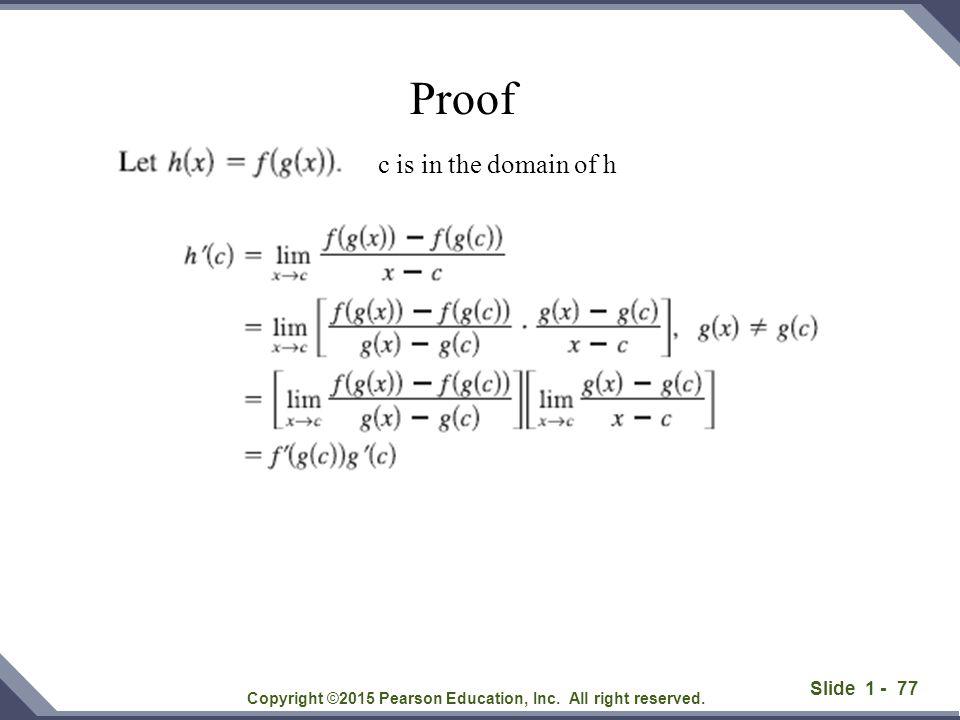 Slide 1 - 78 Solution: Copyright ©2015 Pearson Education, Inc.