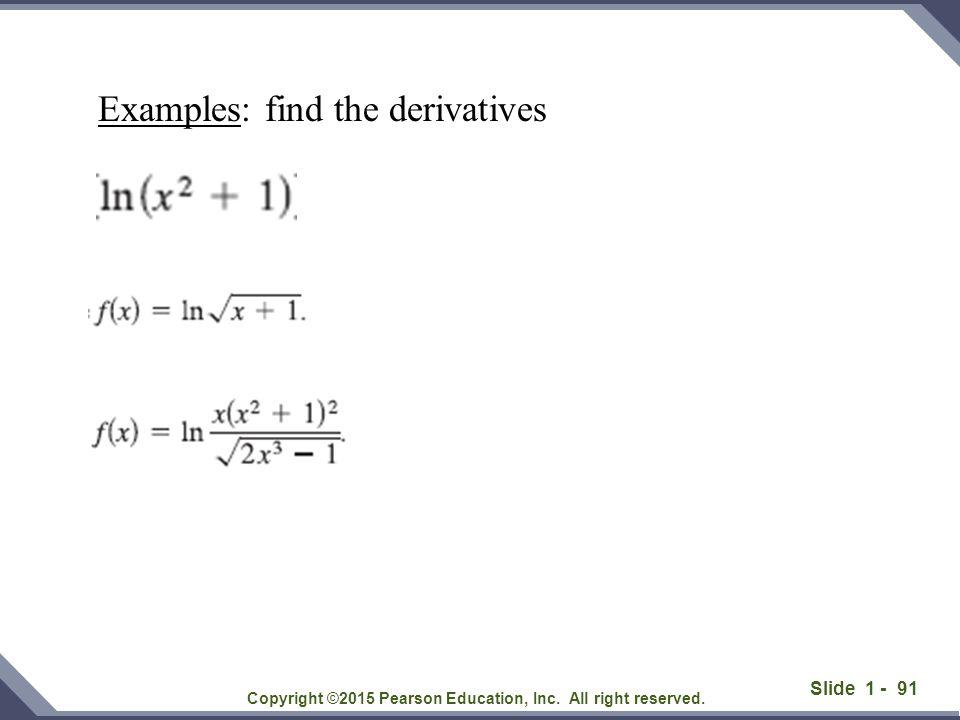 Slide 1 - 92 Copyright ©2015 Pearson Education, Inc.