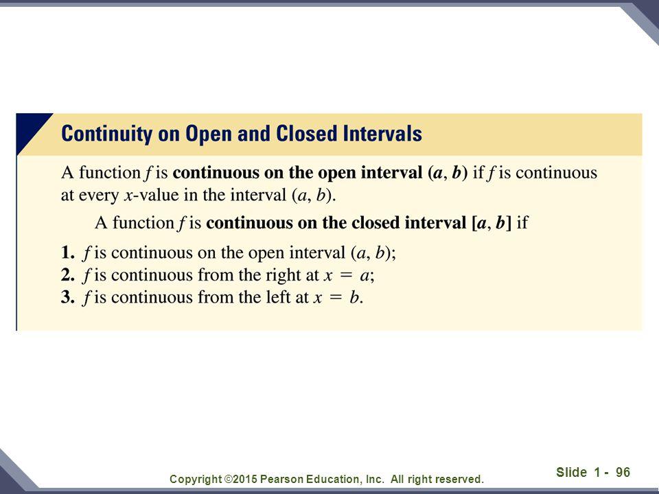 Slide 1 - 97 Solution: Copyright ©2015 Pearson Education, Inc.