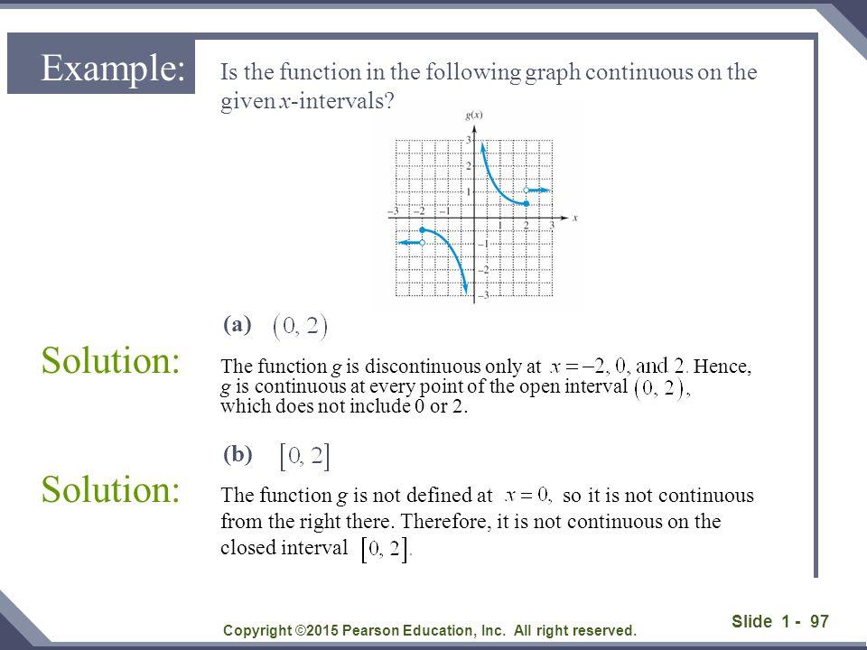 Slide 1 - 98 Solution: Copyright ©2015 Pearson Education, Inc.