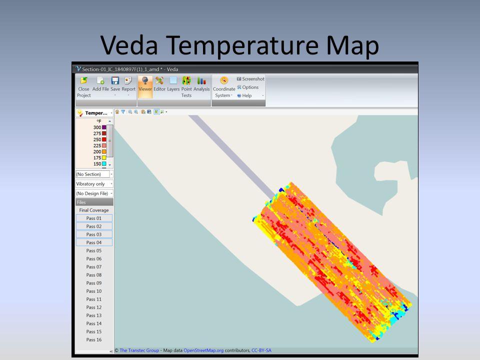 Veda Temperature Map