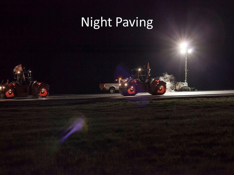 Night Paving