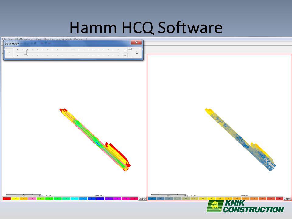 Hamm HCQ Software