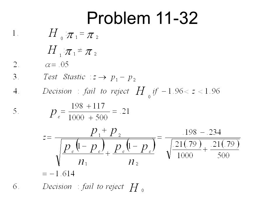 Problem 11-32