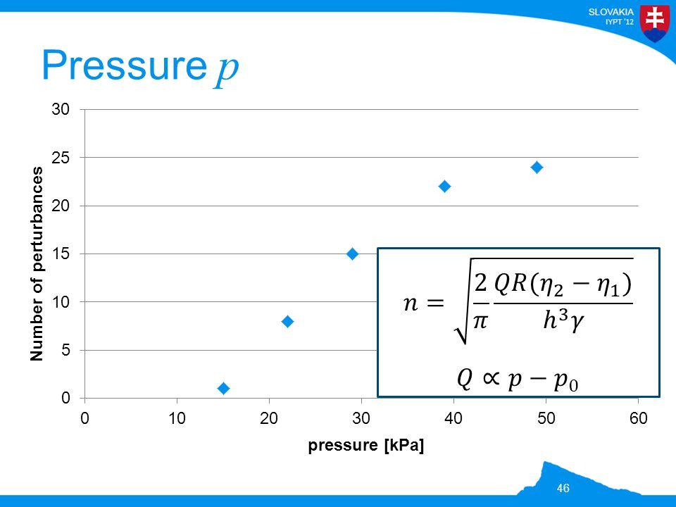 Pressure p 46