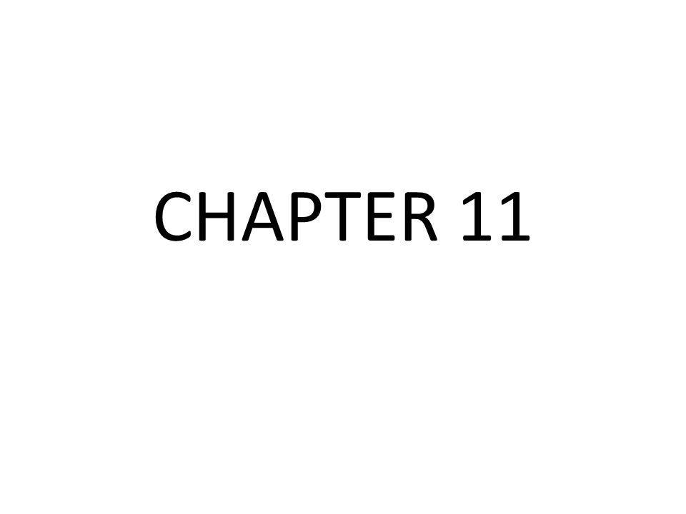 Chapter 11 6.