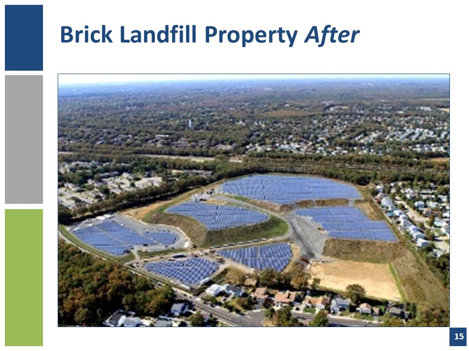 Brick Landfill Property After 15