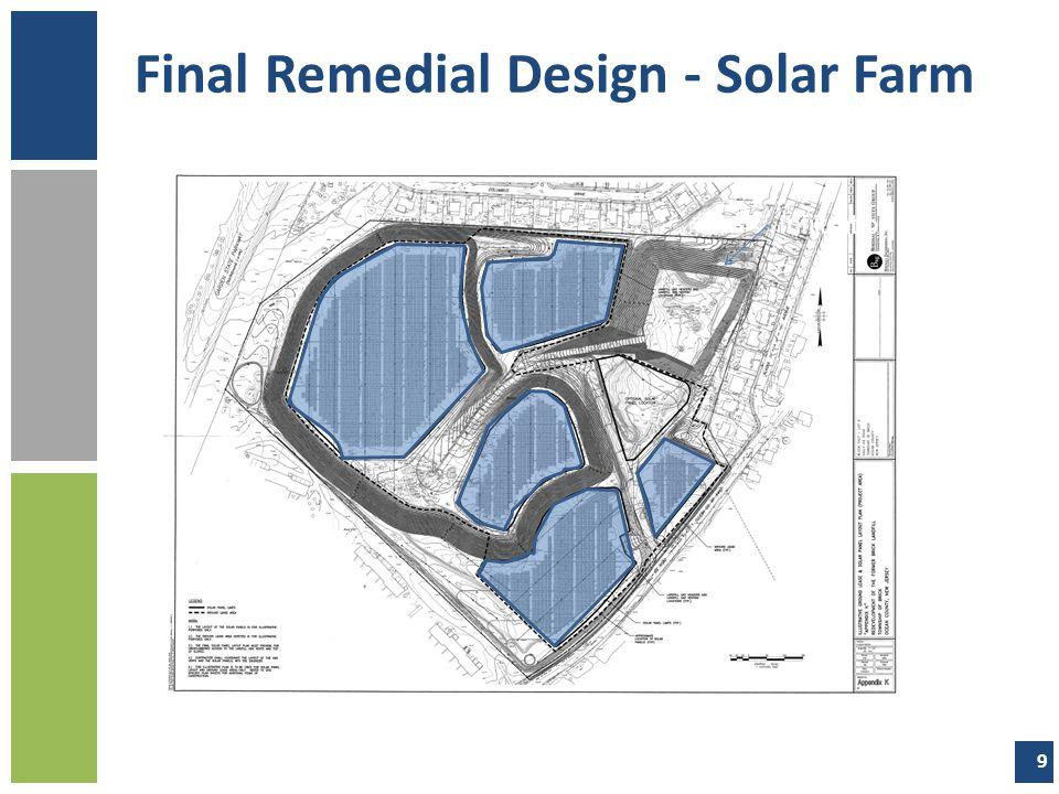 Final Remedial Design - Solar Farm Infiltration Basin 9