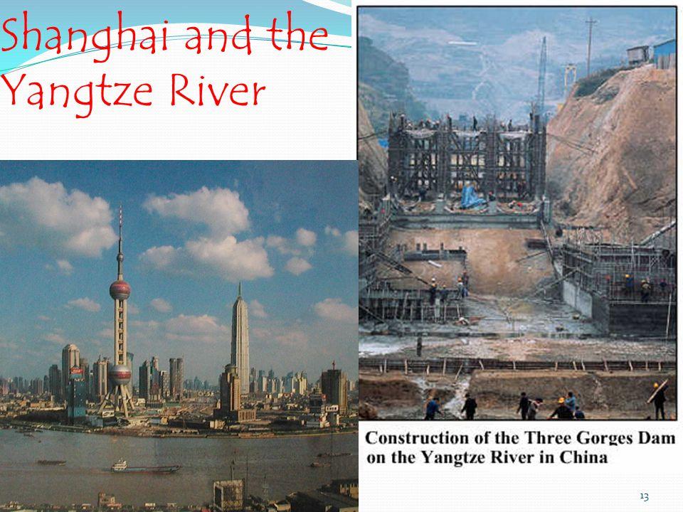 Shanghai and the Yangtze River Globa13