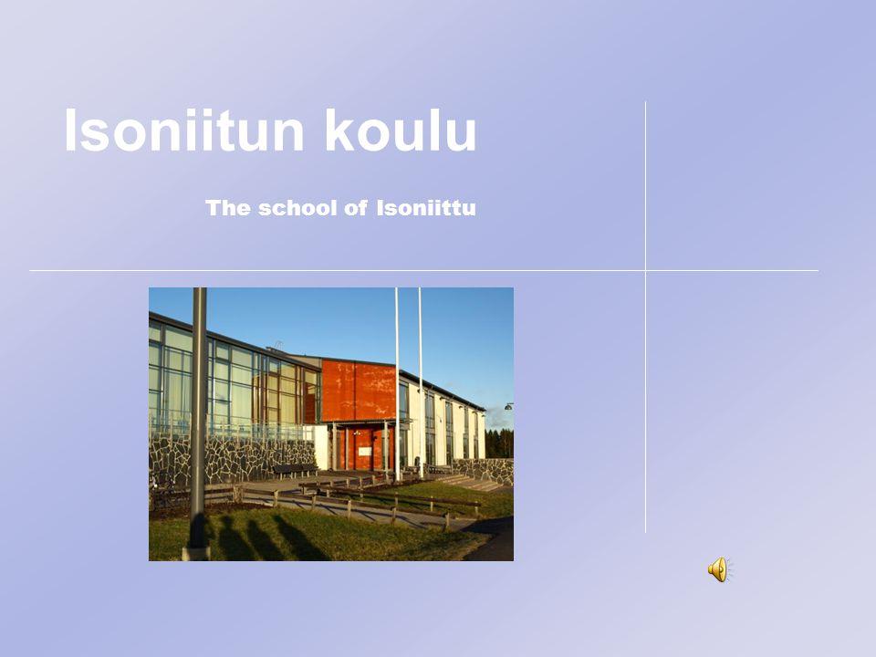Isoniitun koulu The school of Isoniittu