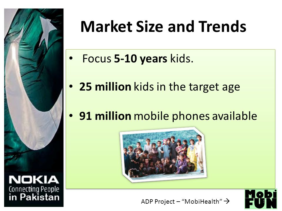 Market Size and Trends Focus 5-10 years kids.