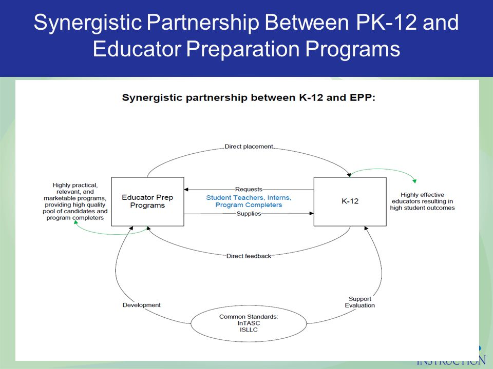 Synergistic Partnership Between PK-12 and Educator Preparation Programs