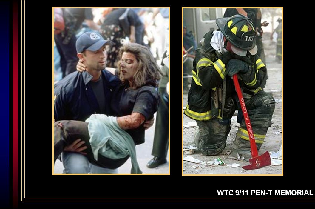 Wayne Winter, Representative The WTC 9/11 PEN-T Committee A Portland (Oregon) firefighter, he helped form a group called a Tribute to Honor.