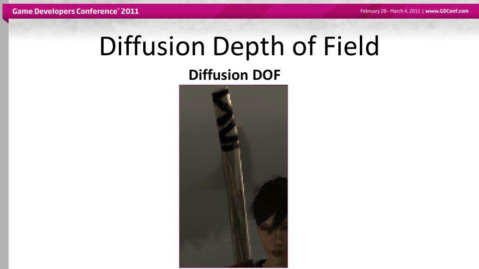 Diffusion Depth of Field Diffusion DOF