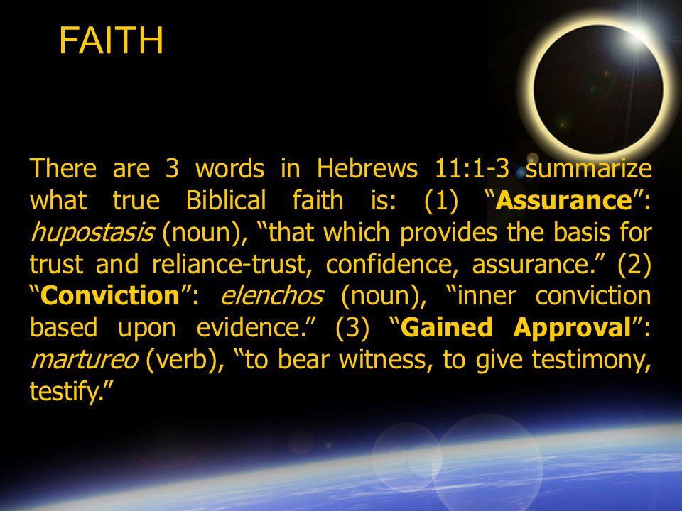 As I noted before Hebrews 11 contains the names of 15 individuals: (1) Abel (2) Enoch (3) Noah (4) Abraham (5) Sarah (6) Isaac (7) Jacob (8) Moses (9) Rahab (10) Gideon (11) Barak (12) Samson (13) Jephthah (14) David (15) Samuel.